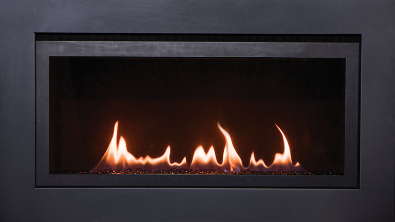 The Langley 36 Direct Vent Linear Electric Fireplace