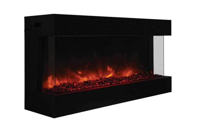 Amantii 50 Tru View Xl 3 Sided Electric Fireplace