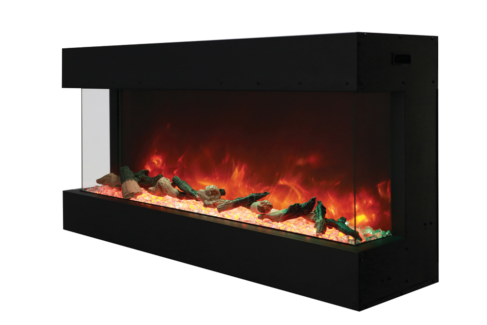 Amantii 50 Tru View Xl 3 Sided Electric Fireplace