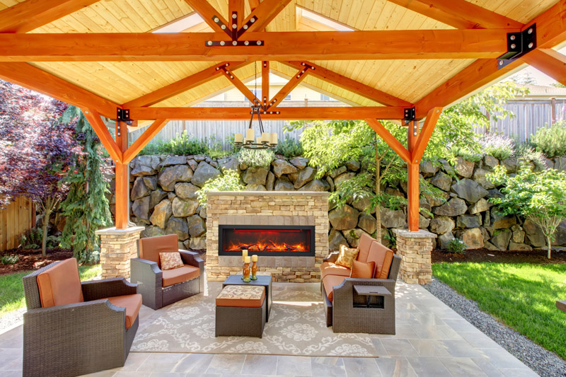 Sierra Flame indoor or outdoor electric Fireplace BI-50-12 - Canned HeatSierra Flame Archives - Canned Heat