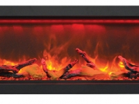 Sierra Flame indoor or outdoor electric Fireplace BI-50-12 face