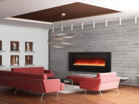 3d rendering. Interior of a spacious drawing room of a room with