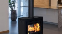Supreme wood burning stove - vision
