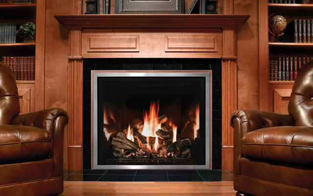 Mendota Fullview Gas Fireplace