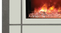 steel overlays for Amantii Electric Fireplaces