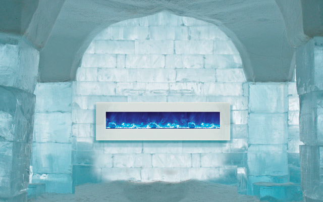 Amantii electric fireplaces - fire and ice series