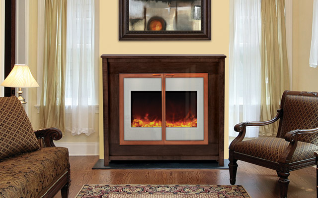 Electric fireplaces zero clearance