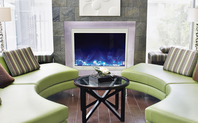 Amantii electric fireplaces - Zero Clearance