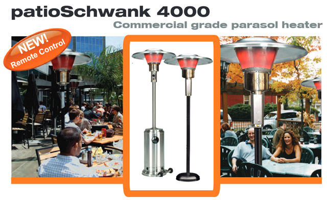 Patio Schwank outdoor heaters