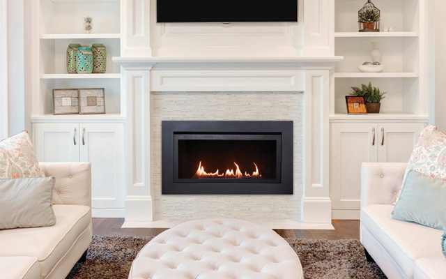 Langley electric fireplace by Sierra Flames