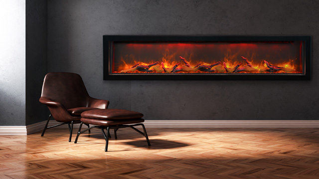 Sierra Flame electric fireplace Vista BI-72-12