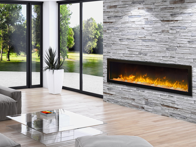 Sierra Flame electric fireplace - BI-72-7