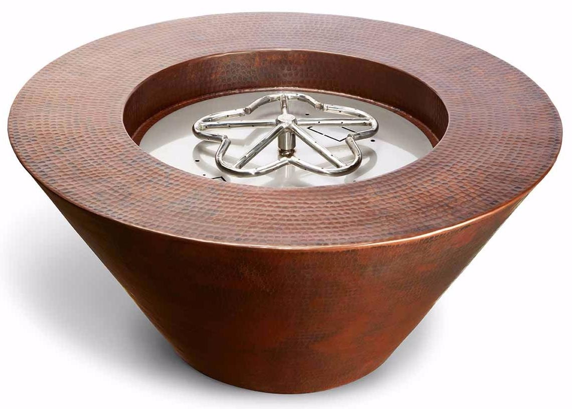 Hpc Remote Electronic Ignition Copper Fire Bowls Canned Heat
