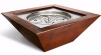 HPC Sedona copper outdoor fire pit package