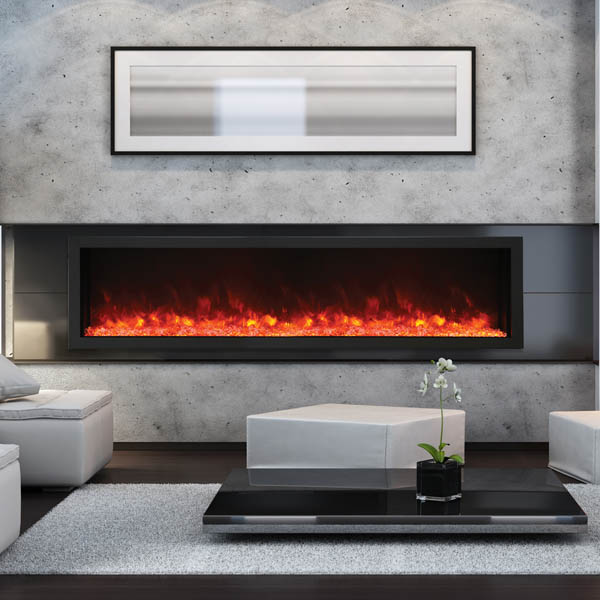 Amantii electric fireplace extra tall